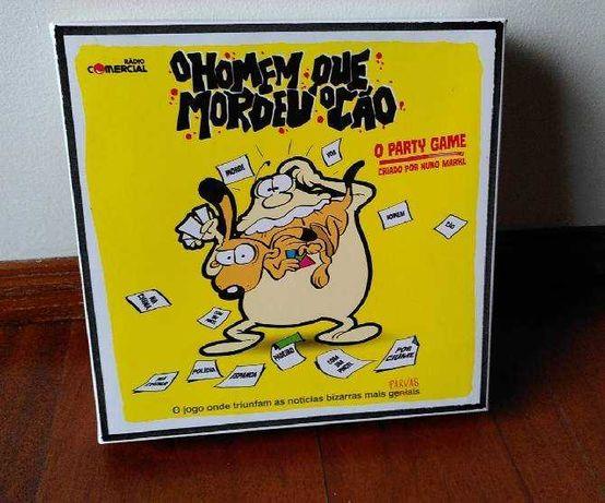 Jogo de tabuleiro - O Homem Que Mordeu o Cão