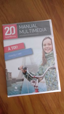 À toi! - Francês 7ºano - Manual Multimédia