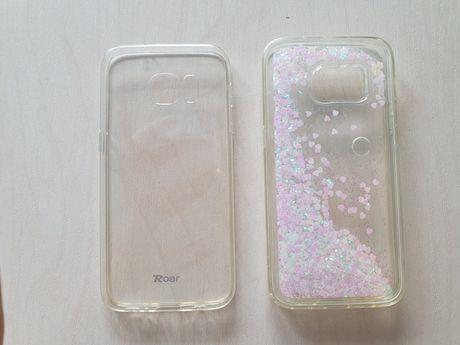 Etui Samsung Galaxy s7 - 2 szt, super stan