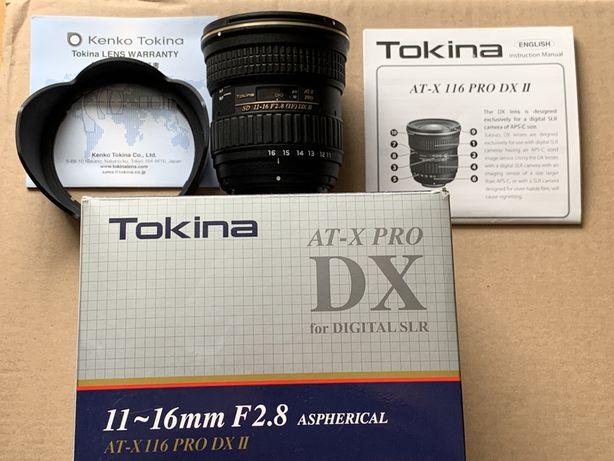 Obiektyw Tokina SD 11-16 f2,8 AT-X 116 PRO DX II Nikon nowy gwarancja