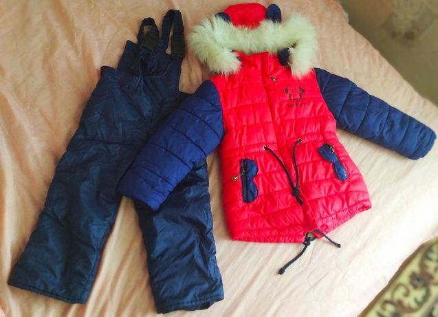 Зимний костюм Минни