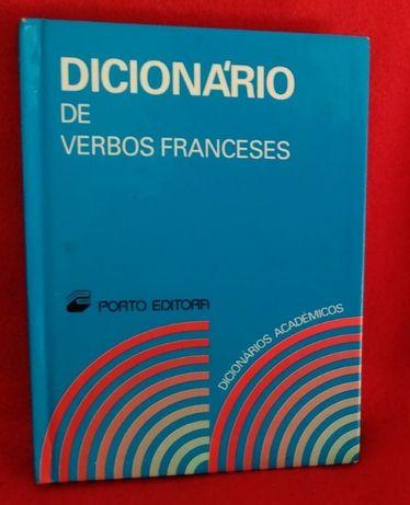 Dicionário académico de Verbos Franceses - da Porto Editora