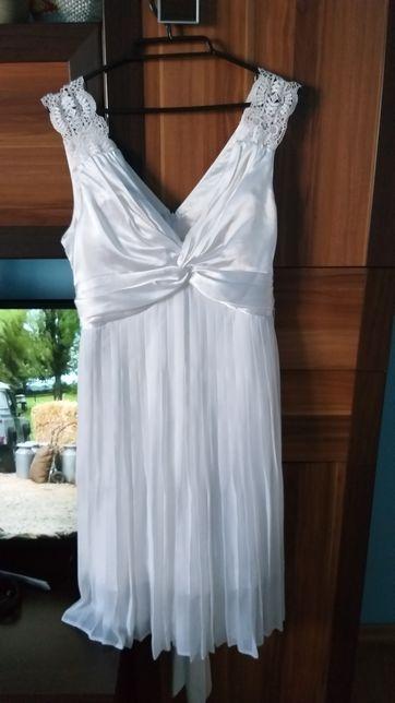 Sukienka ciążowa ślubna
