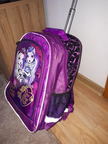 Plecak walizka na kółkach Monster high