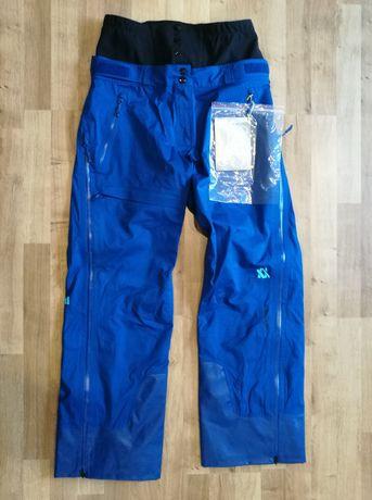 Spodnie narciarskie Volkl Pro Shell r. L niebieskie