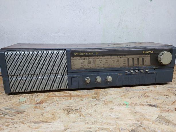 Kultowe Radio UNITRA Śnieżnik R 502 ! Sprawdź to !