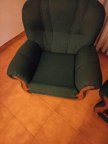 Sofá Individual Verde