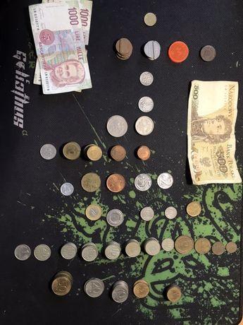 Монеты и банкноты ссср, злотые, рубли,лиры, метро, таксофон