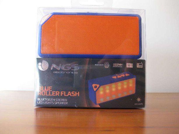Coluna NGS Bluetooth Roller Flash-Radio, Bluetooth, USB, AUX, MicroSD