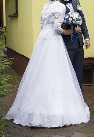 Suknia Ślubna z koronką rozmiar 36-40