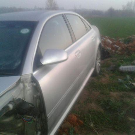 Audi a8 d3 drzwi tył przod prawa lewa strona ly7w