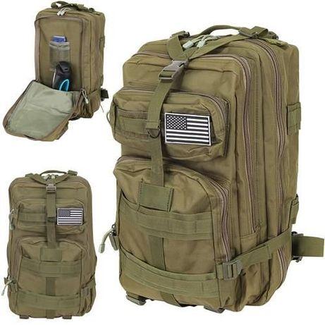 Plecak militarny wojskowy XL zielony 38L