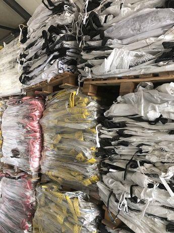 Worki Big Bag Uzywane rozmiar 90/90/185cm z Wkładem Foliowym Hurt