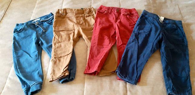 Н&М.Рrimark.4 пары. Штанишки на мальчика 1,5-2,5 года(92-98 см). Б/у.