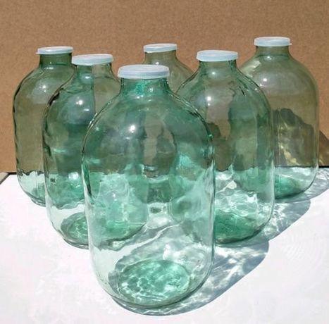 бутыль, банка 10-13 л с крышками есть много на любой вкус и цвет