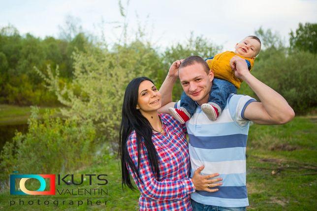 Семейная фотосессия/ Детский фотограф Свадебный фотограф! Все виды съё