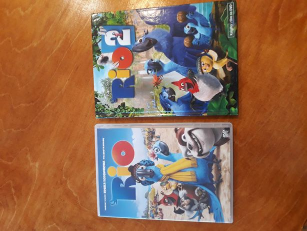 Filmy DVD Rio i Rio2