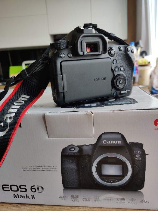 Canon EOS 6D Mark II , stan idealny około 20tyś klatka Szczecin - image 1