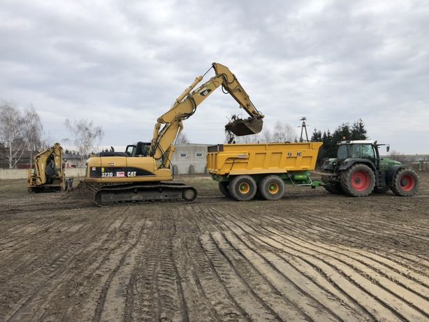 Stabilizacja gruntu niwelacja utwardzenie drogi parkingu terenu