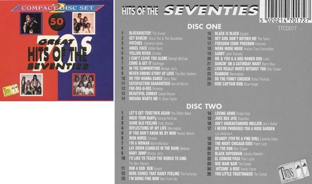Okazja - 50 Great Hits of the seventies (2CD box)