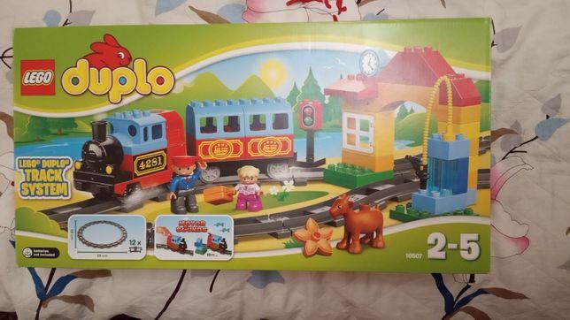 Железная дорога Лего