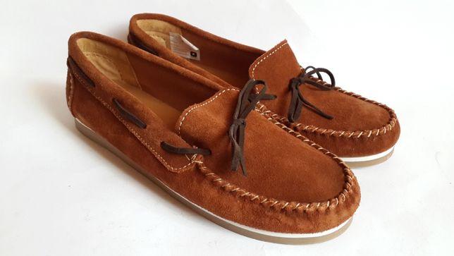 Мокасины, макасины, туфли на мальчика, р. 36 (24 см), Португалия.