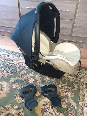 Fotelik nosidełko +adaptery