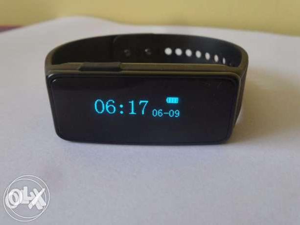 Zegarek Opaska Monitorująca NUBAND Active+, Czarna Lub Niebieska