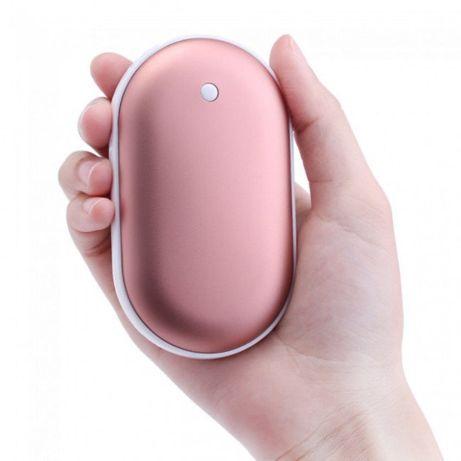 Обогреватель рук / Грілка-павербанк для рук на 5000 mAh Pebble Hand