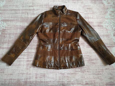 Куртка кожа,шкіряна курточка