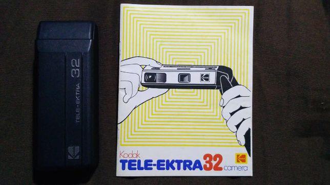 Máquina fotográfica de bolso. KODAK Modelo: TELE-EKTRA 32 CAMER