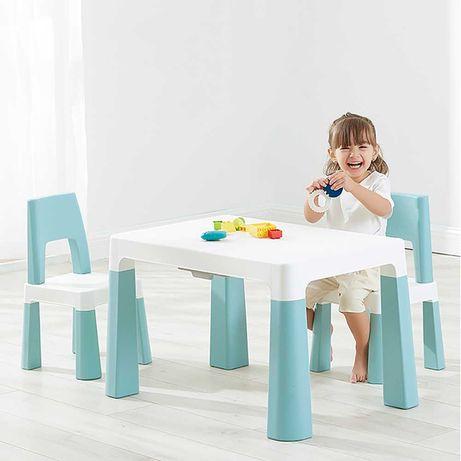 """Детский функциональный столик """"Моно"""" и два стульчика, POPPET"""