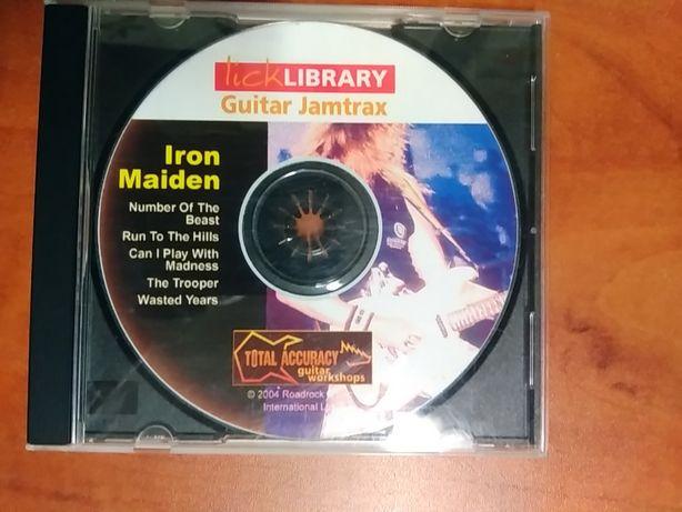 Iron Maiden - guitarra backing tracks
