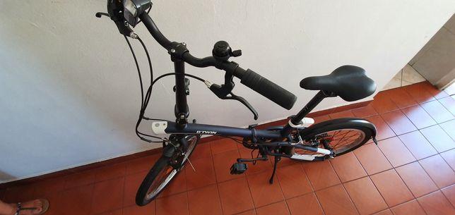 Bicicleta Dobrável TILT 500 Azul