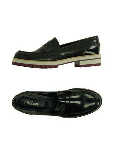 pollini buty mokasyny trapery czarne rozm 37 38 loafers7