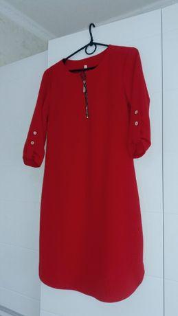 Плаття в ідеальному стані / красное платье