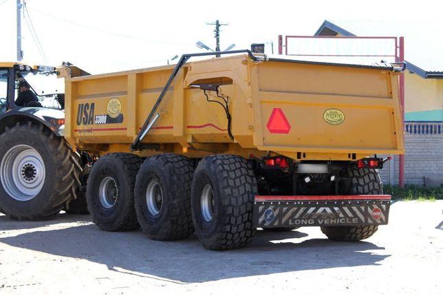 PEECON 33000  Wywrotka 3 osiowa, 33 tony, Pełna hydraulika, Stan bardzo dobry,