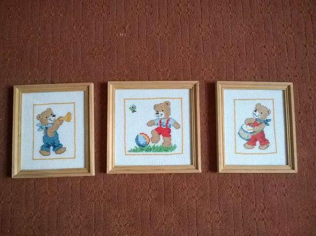 obrazki do pokoju dziecięcego 3 szt