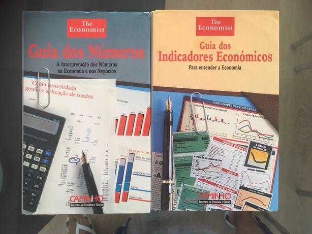 2 livros The Economist