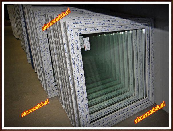 1000x1000 nowe okno PCV od ręki! Okna SZADEK Gealan