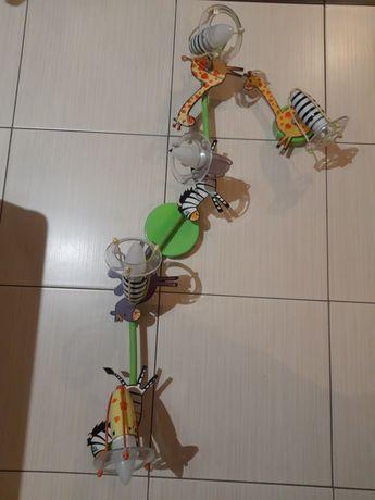 Lampa sufitowa dzuecięca zwierzątka + kinkiet