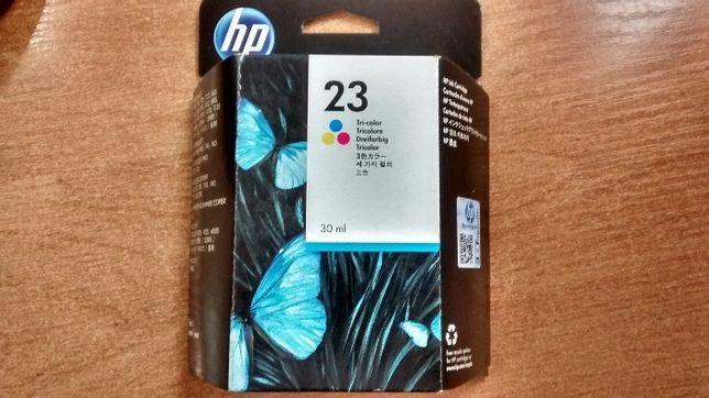 Tusz HP 23 C1823D tusz kolor Orginał