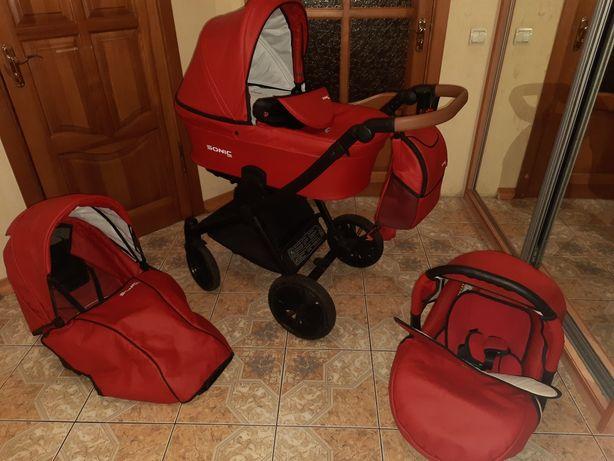 Дитяча коляска 3 в 1 Verdi Sonic Soft