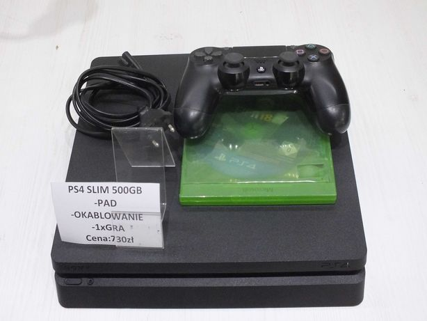 **Konsola PS4 500GB - Lombard Stówka**