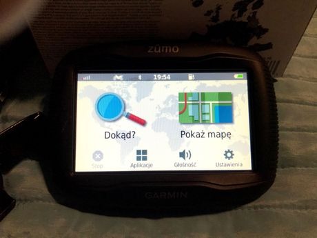 Nawigacja motocyklowa Garmin Zumo 395LM