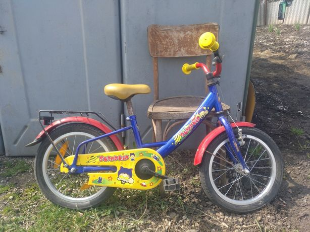 Детячий велосипед 16