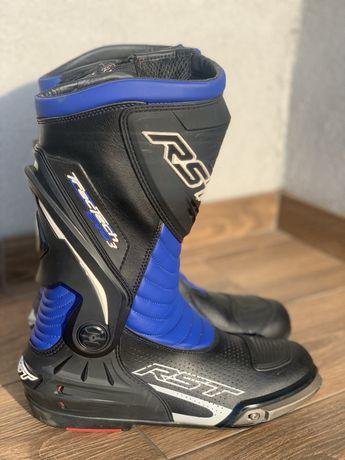 Buty motocyklowe RST Tractech evo 3 rozmiar 44 niebieskie