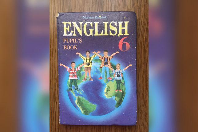 English 6, Oksana Karpiuk. Pupil's book