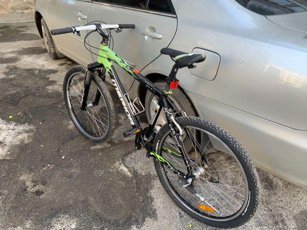 Велосипед алюминиевый 26 колеса Німеччина бу ровер shimano алюміній