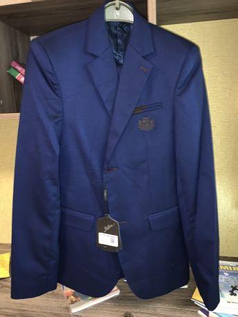 Школьная форма костюм двойка Bozer синий бозер подростковый костюм 42